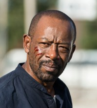 Lennie James as Morgan Jones- The Walking Dead _ Season 7, Episode 14 - Photo Credit: Gene Page/AMC