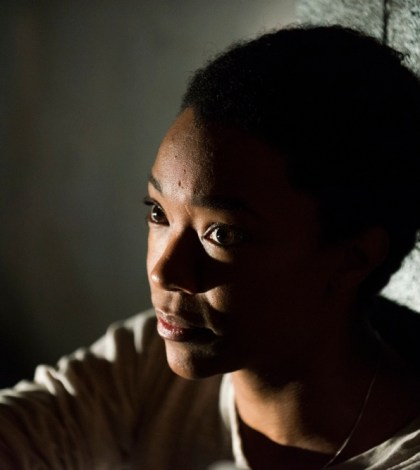 Sonequa Martin-Green as Sasha Williams - The Walking Dead _ Season 7, Episode 15 - Photo Credit: Gene Page/AMC