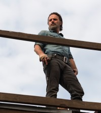 Andrew Lincoln as Rick Grimes - The Walking Dead Season 7, Episode 16 - Photo Credit: Gene Page/AMC
