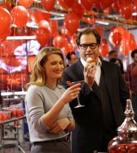"""BULL -- """"Make Me""""  Pictured L-R: Meryl Jones Williams as Dr. Amy Levin and Michael Weatherly as Dr. Jason Bull  Photo: John Paul Filo/CBS"""