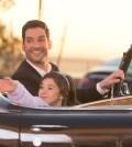 "LUCIFER: L-R: Tom Ellis and Scarlett Estevez in the ""Deceptive Little Parasite"" episode of  LUCIFER | Cr: Michael Courtney/FOX"