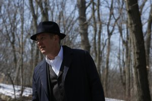 """THE BLACKLIST Episode 4x20  """"The Debt Collector"""" Pictured: James Spader as Raymond """"Red"""" Reddington -- (Photo by: Will Hart/NBC)"""