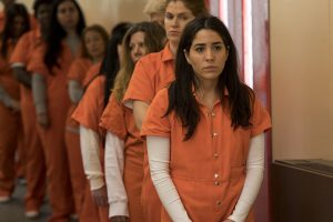 """BLINDSPOT -- """"In Words, Drown I"""" Episode 220 -- Pictured: Audrey Esparza as Tasha Zapata -- (Photo by: David Giesbrecht/Warner Brothers/NBC)"""