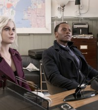 "iZombie -- ""Dirt Nap Time"" Pictured (L-R): Rose McIver as Liv and Malcolm Goodwin as Clive -- Photo: Eric Milner/The CW"