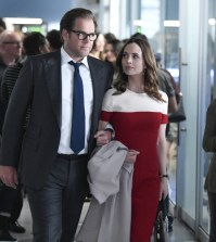 """""""Dirty Little Secrets""""-  Pictured L-R: Michael Weatherly as Dr. Jason Bull and Eliza Dushku as J.P. Nunnelly Photo: Dave Russell/CBS"""