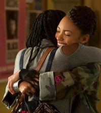 Pictured: Ashley Blaine Featherson, Logan Browning (Adam Rose/Netflix)