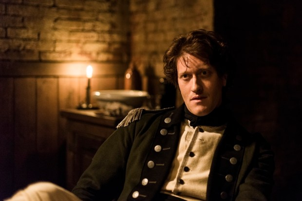 Samuel Roukin as Captain Simcoe - TURN: Washington's Spies _ Season 4, Episode 2 - Photo Credit: Antony Platt/AMC