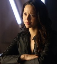 Pictured: Melissa O'Neil as Two -- (Photo by: Stephen Scott/Dark Matter Series 3/Syfy)