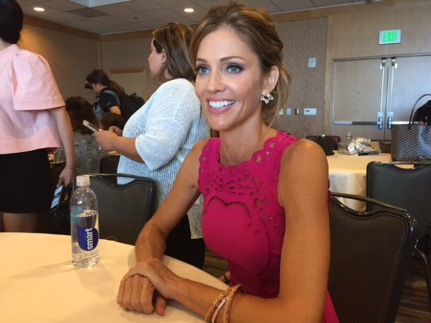 Tricia Helfer at Comic Con 2017. Photo Credit Pauline Perenack/ScreenSpy Magazine