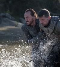 Jerome Flynn as Bronn and Nikolaj Coster-Waldau as Jaime Lannister – Photo: Macall B. Polay/HBO