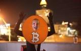 Bitcoin Rollercoaster Meme at Dragon Con 2019