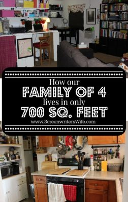 Room by room, how our family makes do in our small home. I should note that 700 sq. ft. is only small to some. Those who live in large cities recognize that you can do a lot with 700 sq feet and I feel very lucky to have the home that I do.