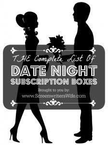 If you're in a rut of trying to come up with ideas for date nights, or if you don't really have time for date nights, or you don't want to spend the money to hire a babysitter, these at home date night subscription boxes take care of most of the work for you.