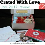 Crated With Love Date Night Box Review: FounDATEions (Jan. '17)