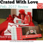 Crated With Love Date Night Box Review: Stuck on You (Feb. '17)