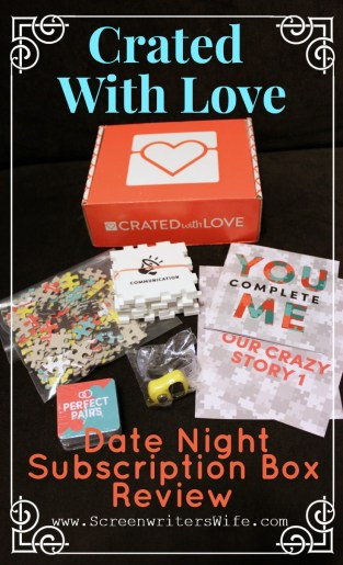 Crated With Love date night subscription box review