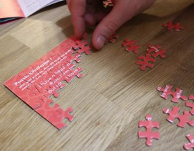 crated with love puzzle activity