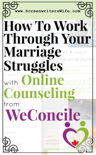 WeConcile online marriage counseling. For when you need help for your relationship but can't do traditional in-person counseling. #marriage #marriagecounseling