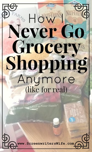 I pretty much never go grocery shopping anymore. For real. I buy all my food online. And I LOVE not having to drag my three kids into the store! Here's how I do it.