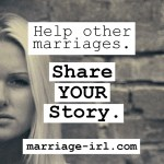 My Brand New Website! Marriage Real Life Stories: marriage-irl.com
