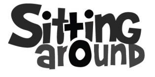 sitting around logo
