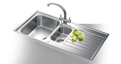 Kitchen Sinks   Kitchens   Screwfix com     Undermount Sinks      Black Sinks