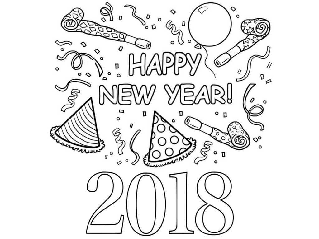 Confetti Pages Coloring Pages