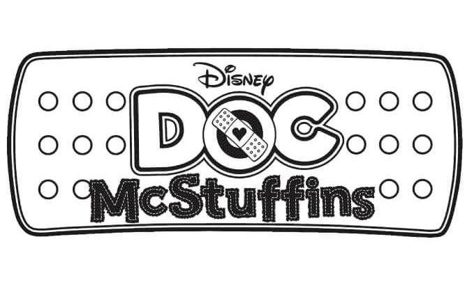 Doc McStuffins Logo Coloring Pages
