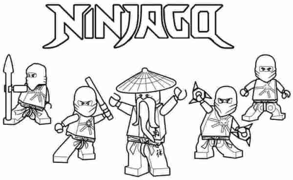 new ninjago coloring pages # 20