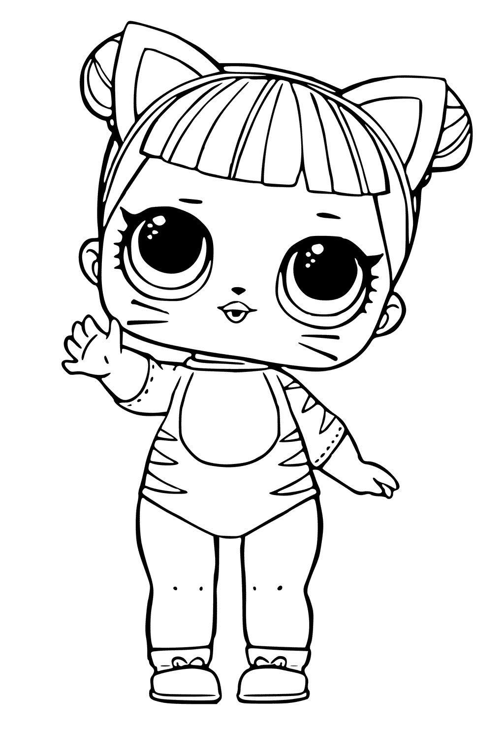 40 Free Printable Lol Surprise Dolls Coloring Pages