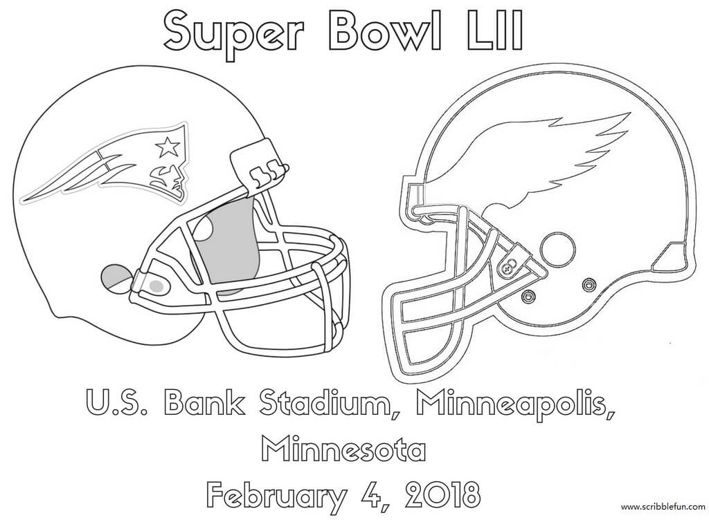 Super Bowl Xliii Coloring Pages