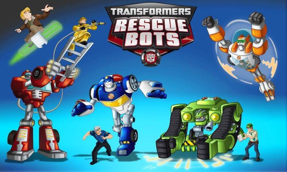 transformers rescue bots coloring pages to print