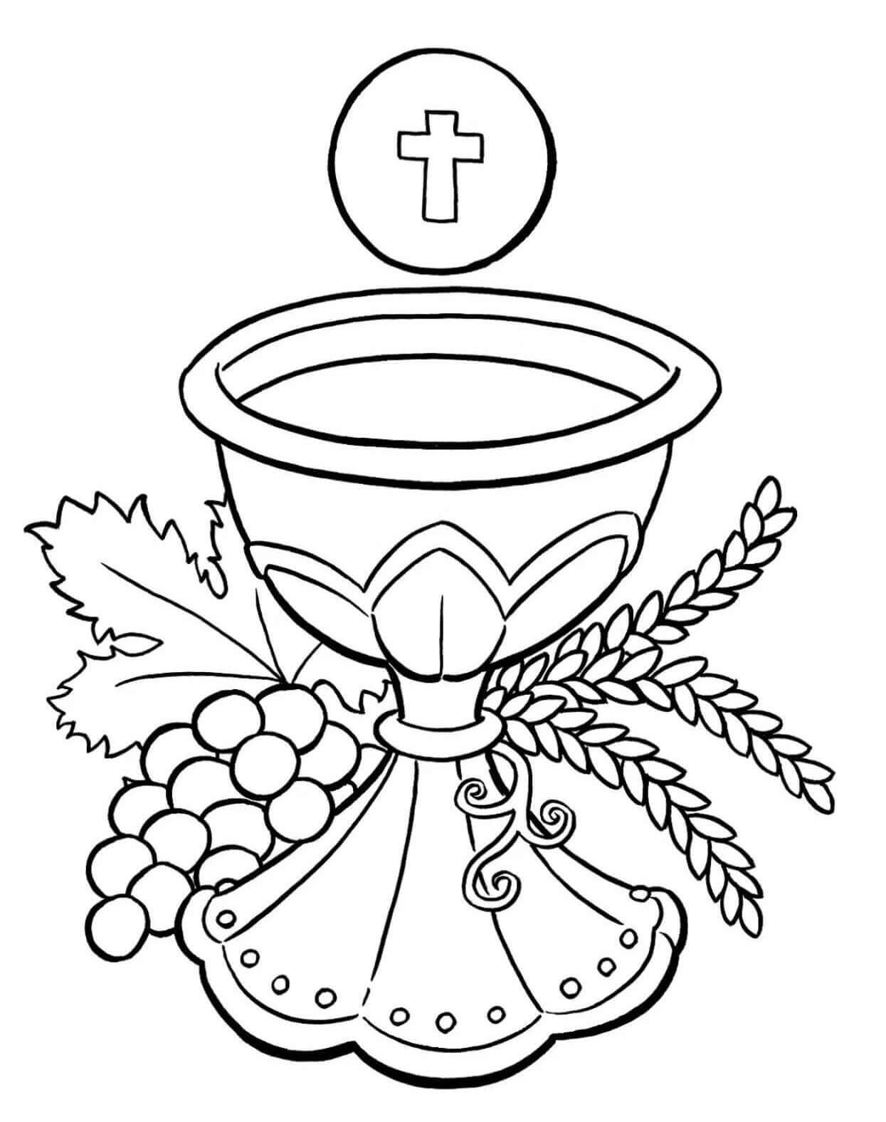 Free Printable Lent Coloring Pages