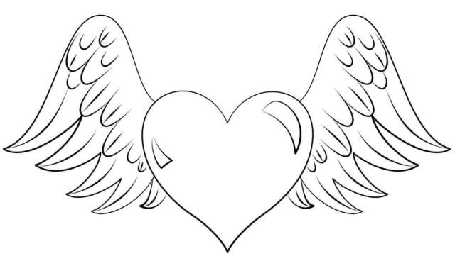 18 Free Printable Heart Coloring Pages