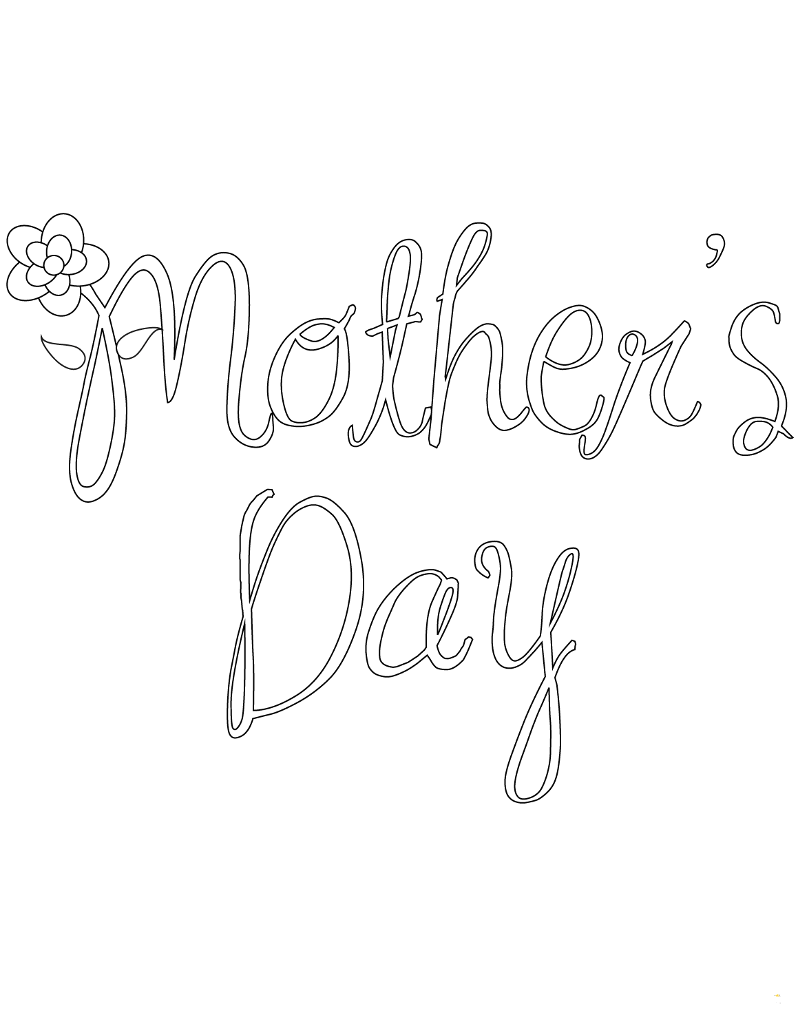 30 Free Printable Mother S Day Coloring Pages