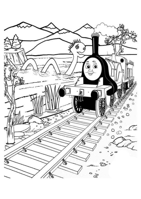 Thomas And Friends Coloring Pages Emily