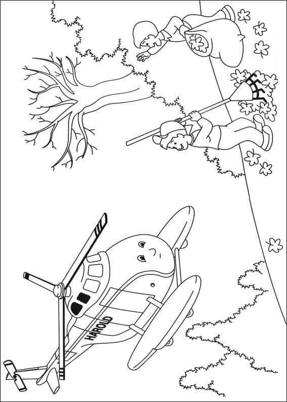 Thomas The Train Autumn Coloring Pages