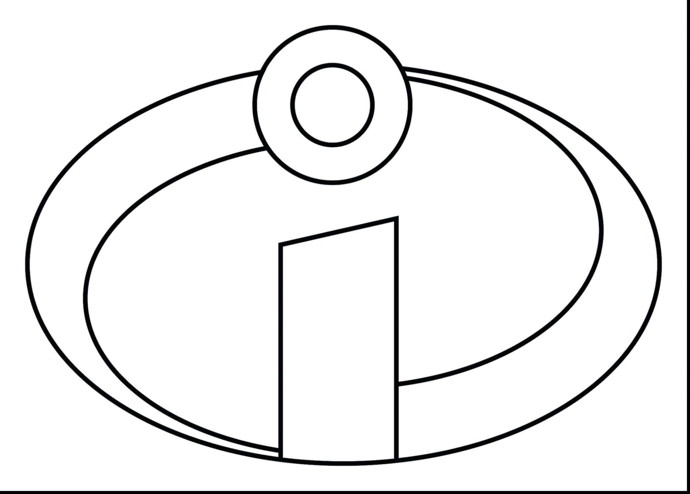 The Incridible Coloring Pages