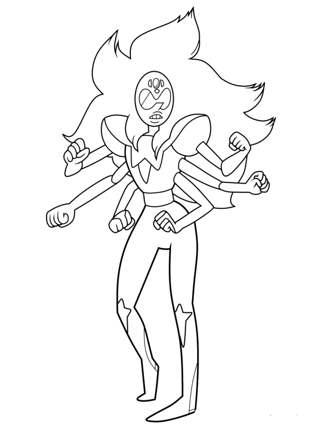 Free Printable Steven Universe Coloring Pages