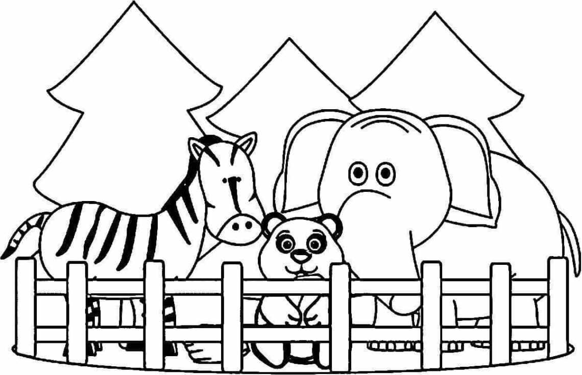 Free Printable Zoo Coloring Pages For Kids | printable coloring pages zoo animals