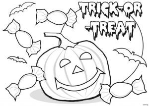 Jack O Lantern Coloring Images To Print
