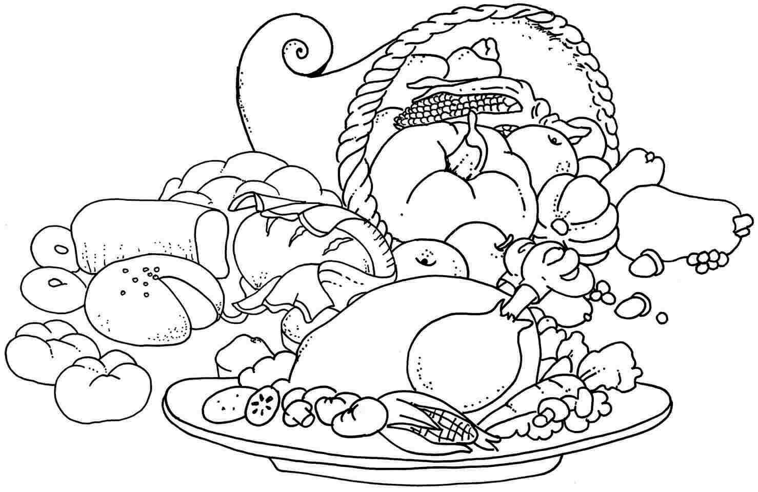 20 Free Printable October Coloring Pages