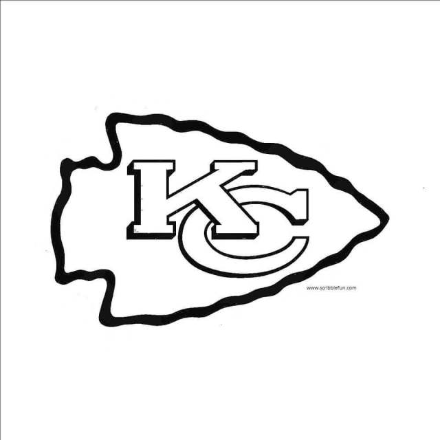 Kansas City Chiefs Coloring Pages – iconmaker.info
