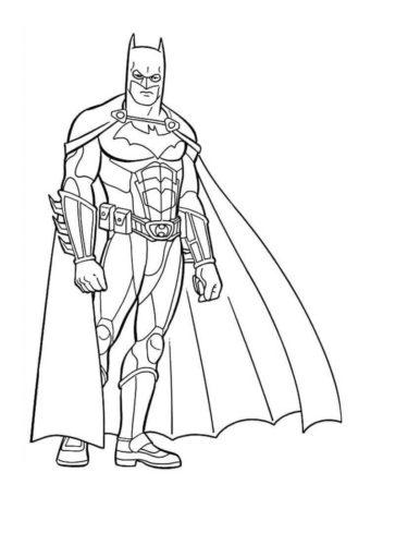 printable batman coloring pages # 77