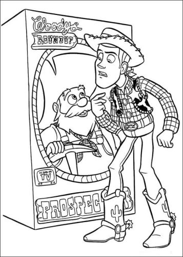 Toy Story 2019 Coloring Page