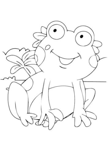 free coloring pages froggy learns to swim # 71