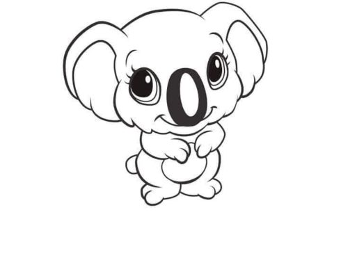 36 Free Cute Animals Coloring Pages Printable