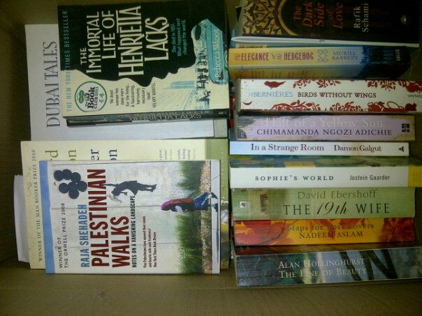 All my books, still boxed up in Cyprus.