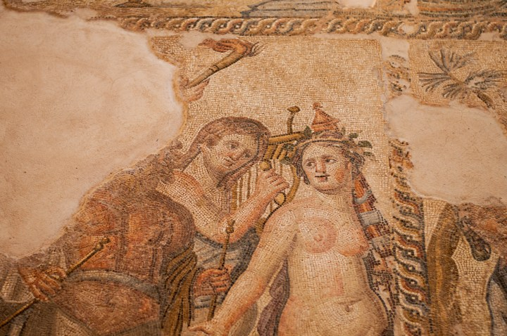 Mosaic in the house of Aion