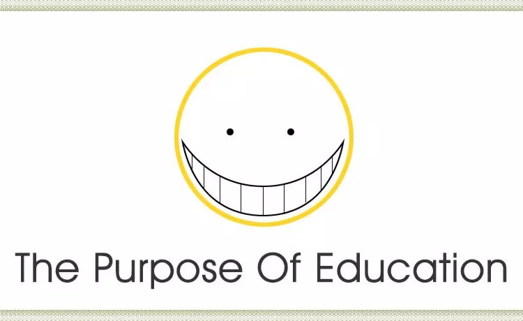 Assassination Classroom, or Ansatsu Kyoshitsu, examines the purpose of education in an over-the-top, humorous way.